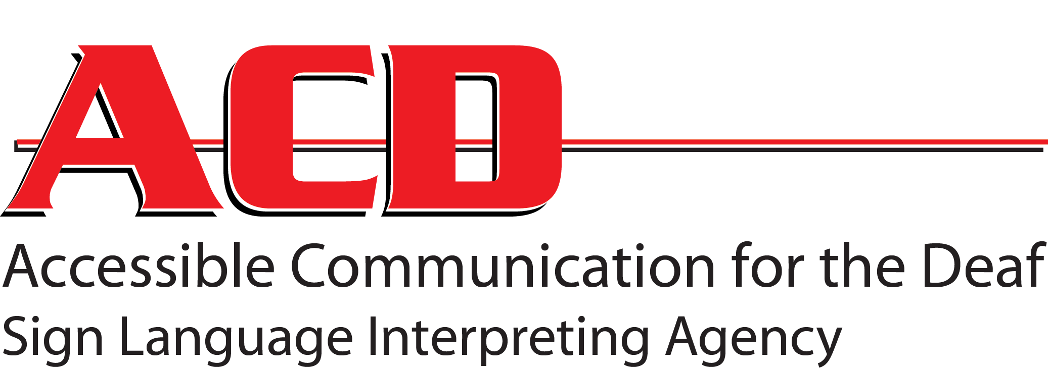 Accessible Communication for the Deaf logo